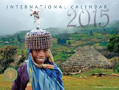 2014 International Calendar