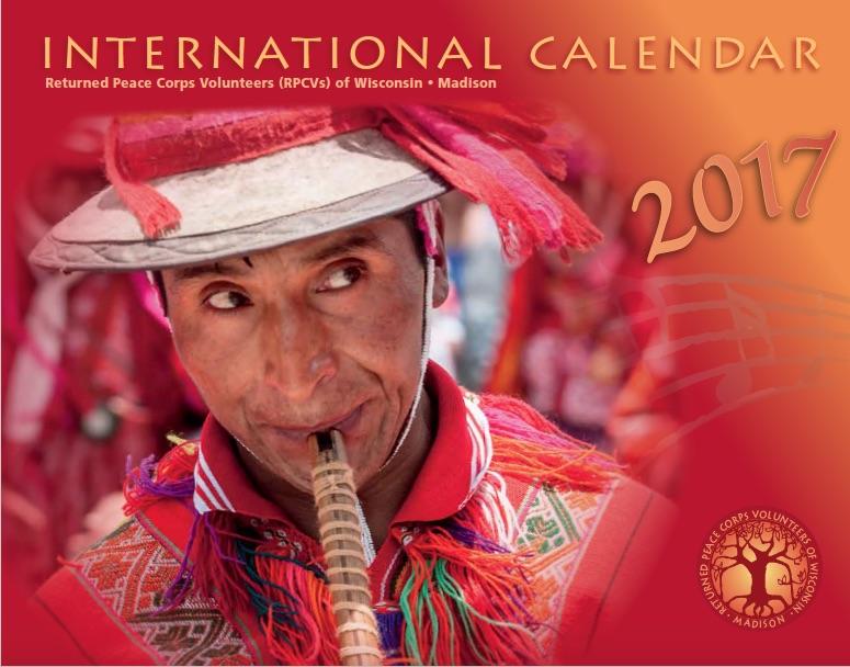 2017 International Calendar
