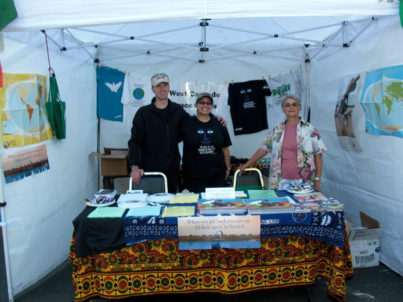 2008 Eugene Celebration Booth