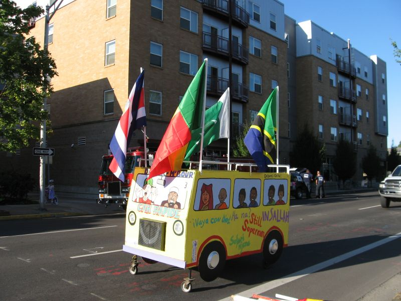 2008 Eugene Celebration Bus