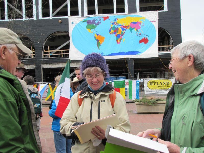 Peace Corps 50 In Eugene: RPCVs and the World Map from March 1